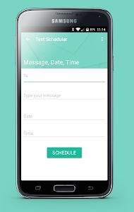 Text Message Scheduler screenshot 1