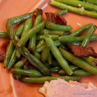 Baked Bacon Green Beans.