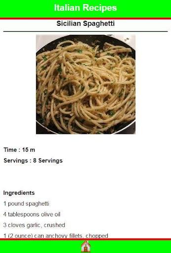 玩免費遊戲APP|下載Italian Recipes app不用錢|硬是要APP