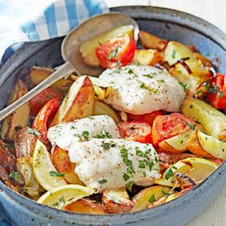 Greek-style Roast Fish.