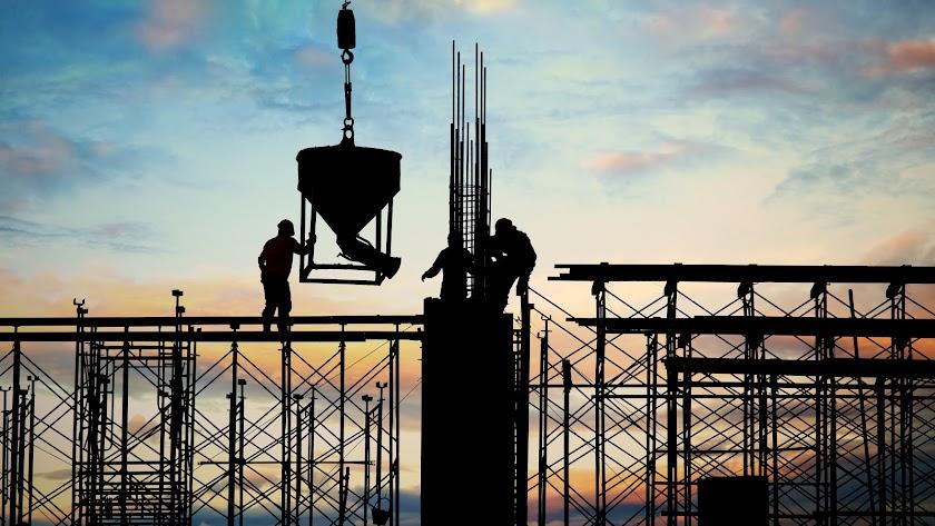 La construcción apenas se detuvo dos semanas durante el confinamiento más duro.