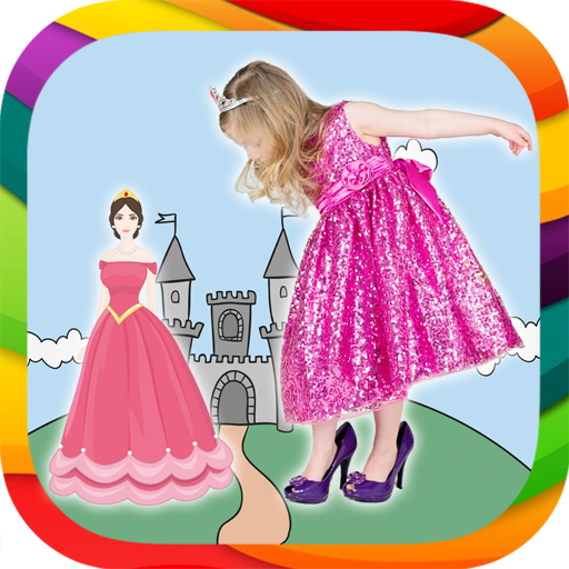 Princesses - photo stickers
