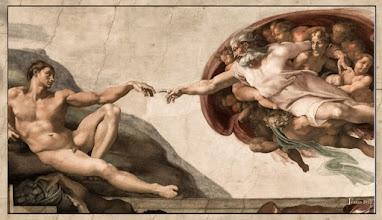 Photo: Rom Sixtinische Kapelle Italien Petersdom - Gottes Finger - Adam Genesis