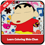 Learn Coloring Character Crayon Shin chan APK icon