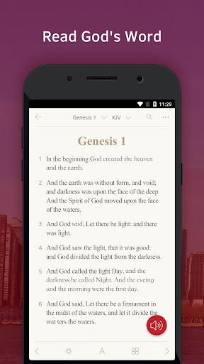 Light Bible: Daily Verses, Prayer, Audio Bible Screenshot