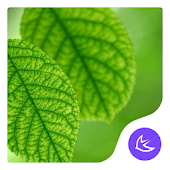 Green|APUS Launcher theme