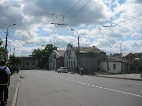 Photo: W końcu ulicy widać synagogę