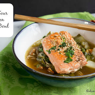 Hot and Sour Salmon Noodle Bowl.