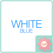 ColorfulTalk - White B 카카오톡 테마