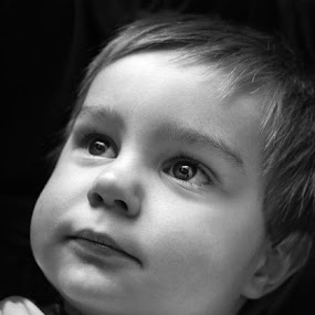 Seeing the Light by Graeme Carlisle - Babies & Children Babies ( child, epic, family, boy, portrait )