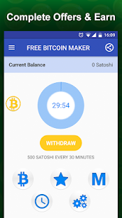 Free Bitcoin Miner - Earn BTC Screenshot