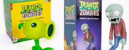 Ornamentos para jardín de Plants vs Zombies