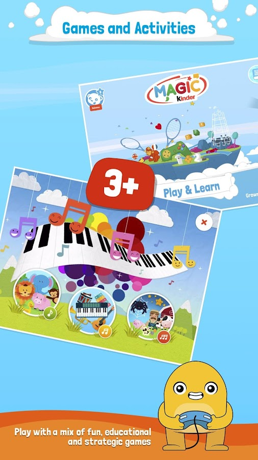 Magic kinder official app free kids games android apps - Kinderapps gratis ...