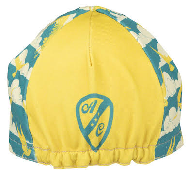 All-City Fly High Cycling Cap - Teal, Gold, One Size alternate image 0
