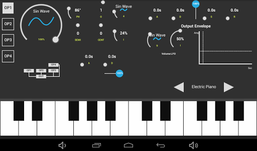 SonaFM Music Synthesizer screenshot 2
