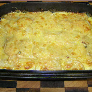 Chicken and Potato Bake.