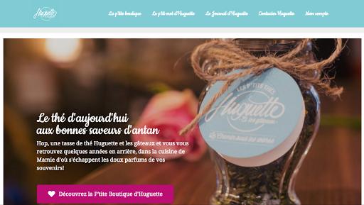 création de site web pour salon de thé