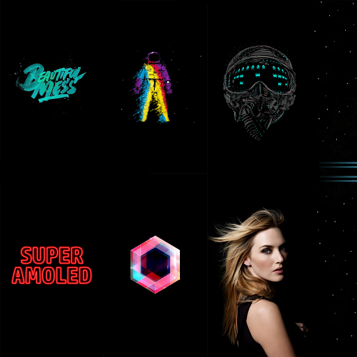 Super AMOLED Wallpapers (HD/4K) app (apk) free download for Android/PC/Windows screenshot