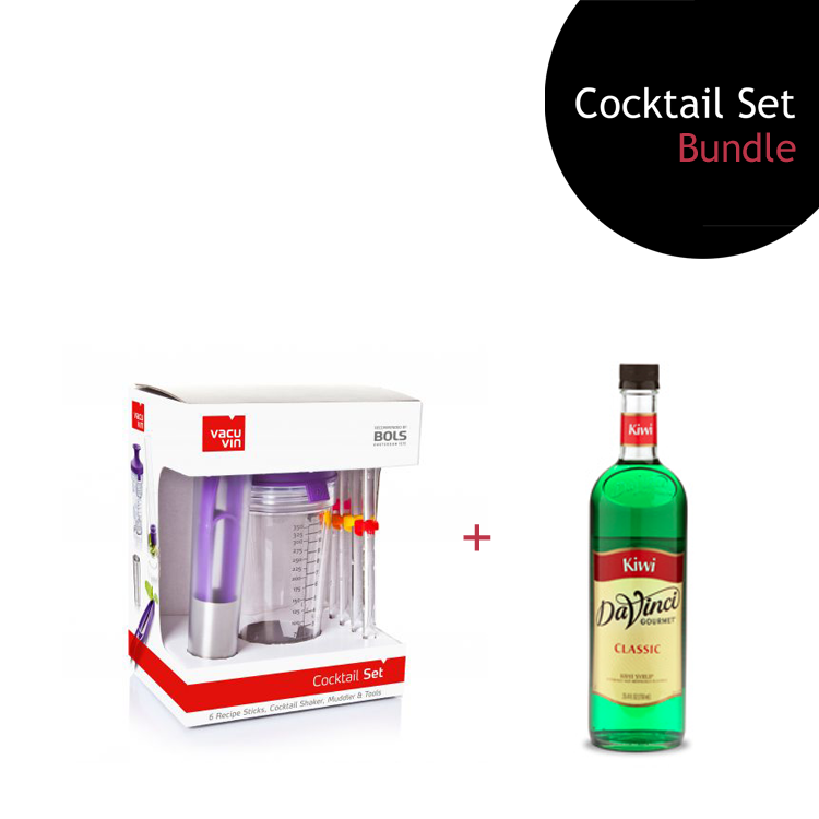 [Bundle] Cocktail Set + Kiwi Syrup by ECIATTO GROUP SDN BHD