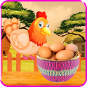 Catch the Eggs of Chickens icon