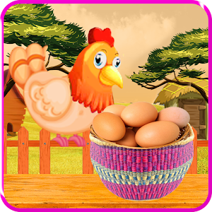 Catch the Eggs of Chickens for PC and MAC