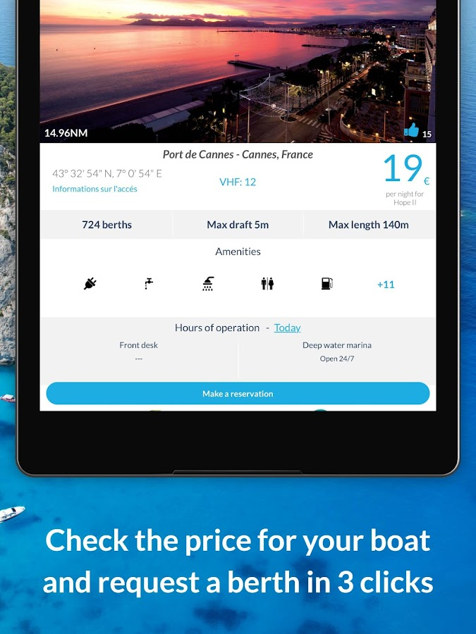 Navily - Cruising guide- screenshot
