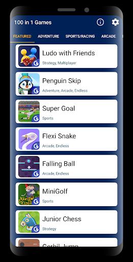 100 in 1 Games 3.2 screenshots 1