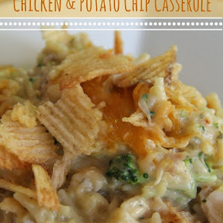 Chicken & Potato Chip Casserole.