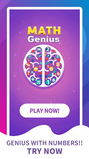 Math Genius - Math Riddles & IQ Puzzle Brain Game screenshot 1
