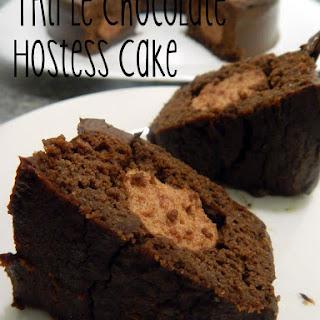Triple Chocolate Hostess Cake.