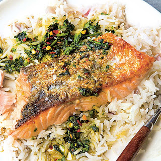 Salmon And Coconut Rice Recipes.
