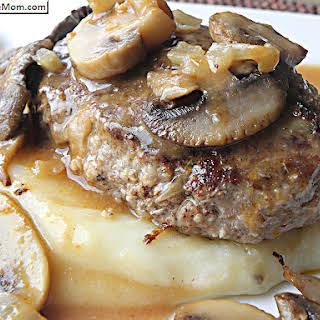 Healthier Salisbury Steak.