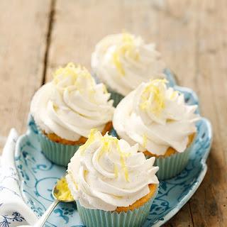 Topfen-Mandel-Cupcakes