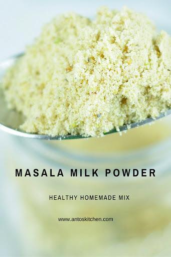 masala milk powder
