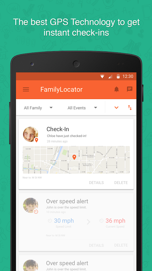 Family Locator & Kids Tracker- screenshot