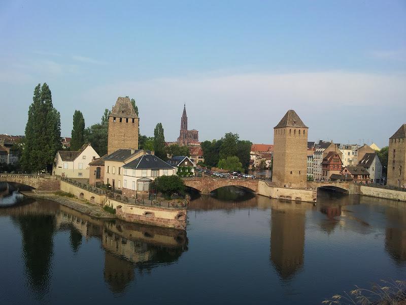 ponti coperti a Strasburgo di seria