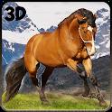 Wild Horse Rider Hill Climb 3D icon
