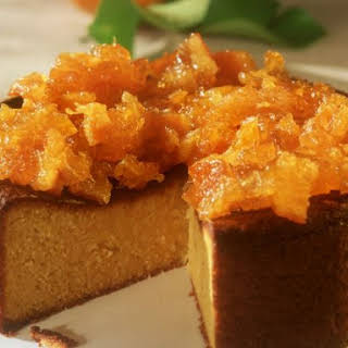 Moist Orange Cake.