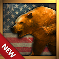 USA Wild Animals Bowhunting 3D Icon