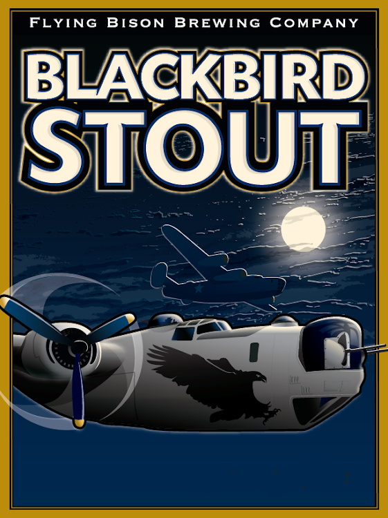 Logo of Flying Bison Blackbird Oatmeal Stout