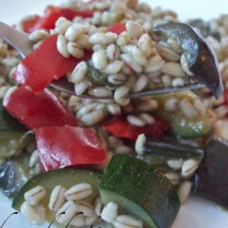 Barley Salad With Vegetables!!