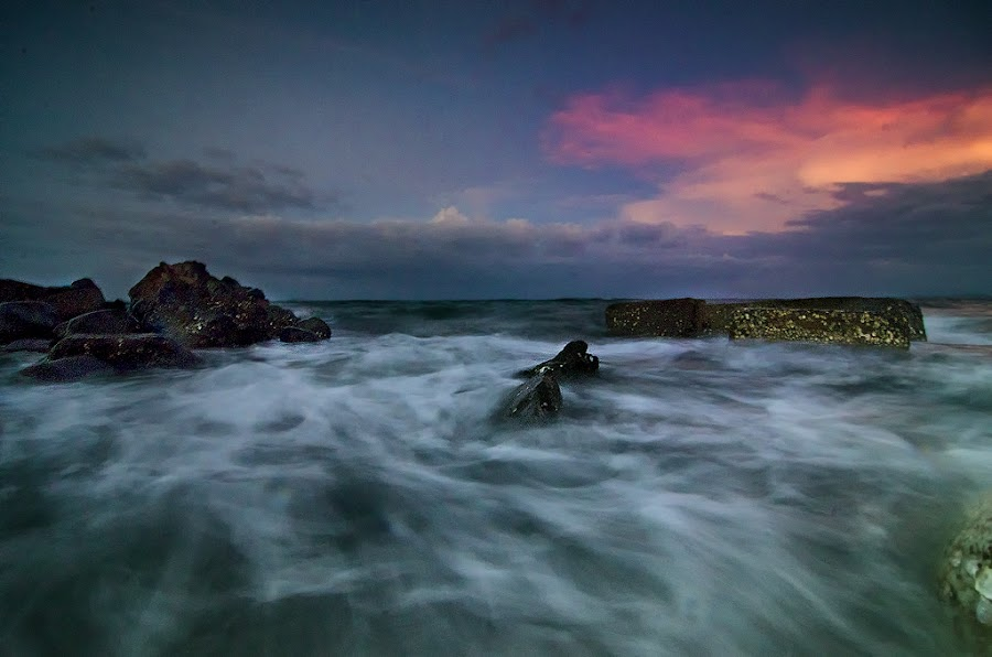 Blue hour in Fatima by Loida Cordova - Landscapes Waterscapes