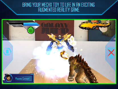 Disney Mech-X4 Robot AR Battle - náhled
