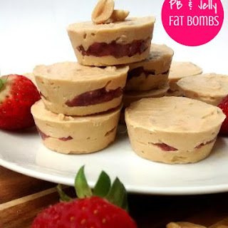 Peanut Butter & Jelly Fat Bombs