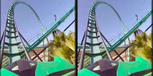 VR Thrills: Roller Coaster 360 (Google Cardboard) APK screenshot thumbnail 13