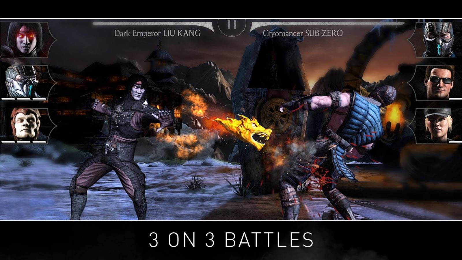 Screenshots of MORTAL KOMBAT X for iPhone