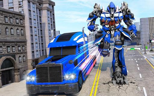 Indian Police Robot Transform Truck 1.13 Screenshots 4