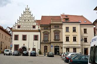 Photo: Rynek z renesansowymi, gotyckimi i barokowymi kamienicami.  Po lewejCtiborův dům.
