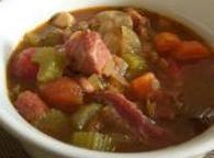 Hearty Pinto Bean And Ham Soup Recipe