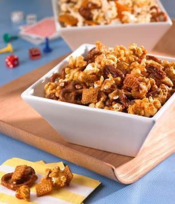 Sweet And Salty Popcorn Party Mix Recipe